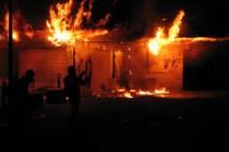 Mantes-la-Jolie : nouvel incendie criminel au centre commercial du Val Fourré