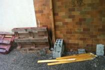 La police accusée d'avoir saccagé des palettes dans un centre commercial