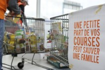 Mantes-la-Jolie : collecte alimentaire pour les démunis