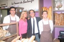 Mantes-la-Jolie : la boulangerie La femme du boulanger inaugurée