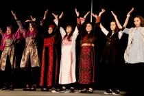 Des adolescentes palestiniennes en visite à Mantes-la-Jolie