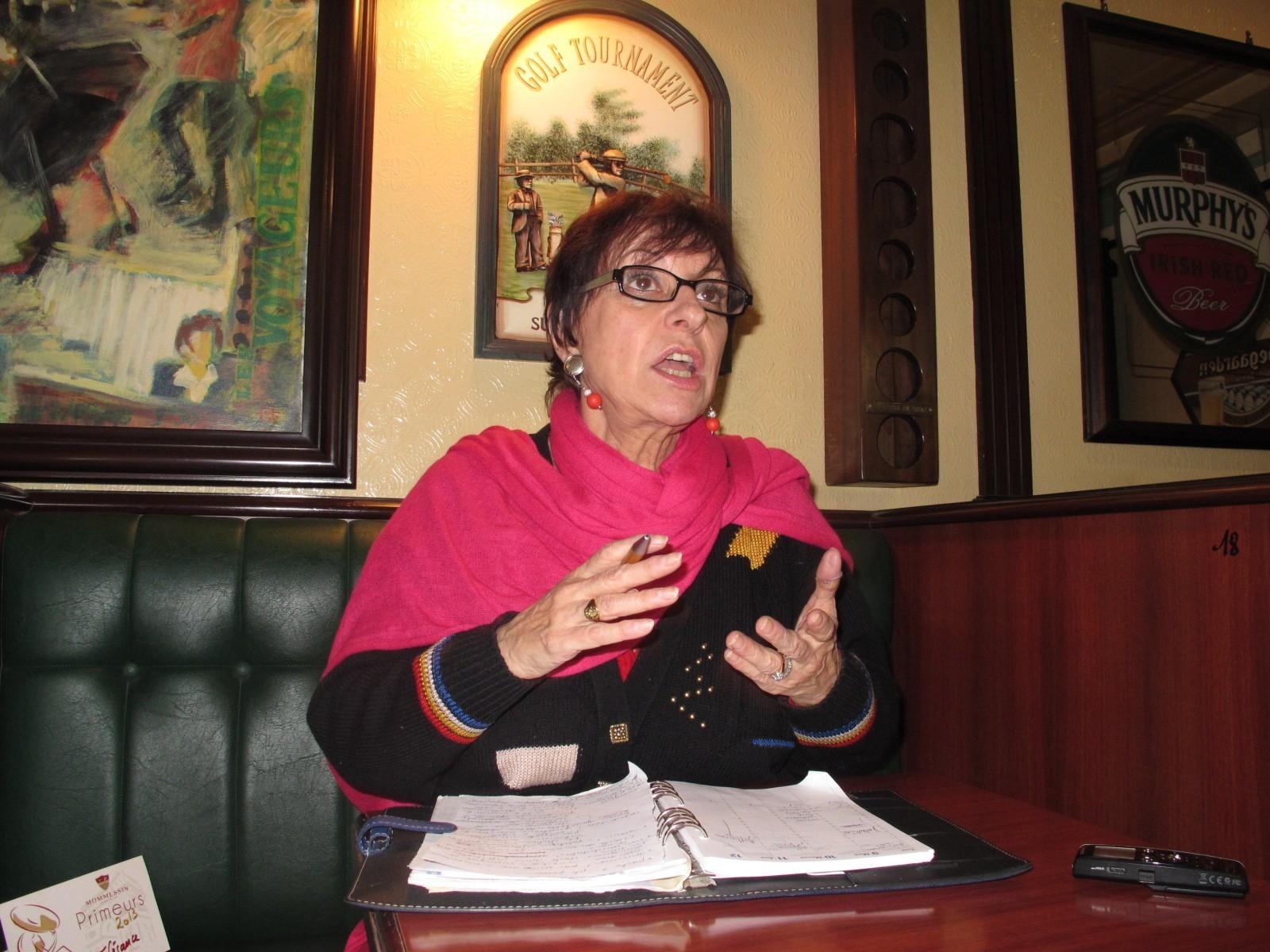 Mantes-la-Ville (Yvelines) - vendredi 9 décembre 2013 - Membre du Parti socialiste depuis 1969, Annette Peulvast Bergeal a rendu sa carte il y a quelques jours. (LP/MG)