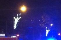Une voiture de police percute un automobiliste à Mantes-la-Jolie