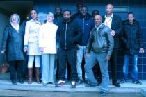 Mantes: des jeunes rénovent un hall d'immeuble, ils iront à Madagascar pour une action humanitaire