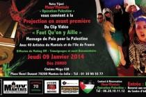 Mantes-la-Jolie: projection du clip « Faut qu'on y aille » au cinéma méga CGR
