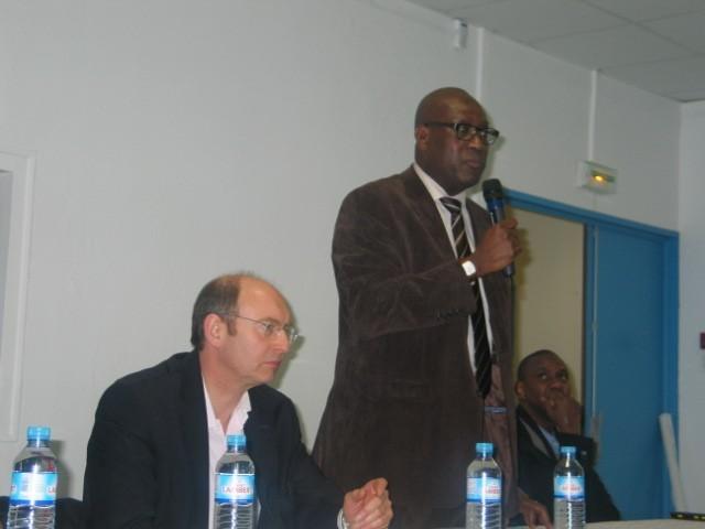 Mantes-la-Jolie - vendredi 21 fév. 2014 - Amadou Daff , directeur du collectif mantais médiation (MA/Ab.N)
