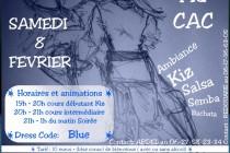 La soirée Blue-Fresh Kizomba au CAC le 8 février