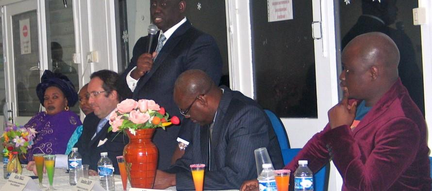 POLITIQUE : Aliou, frère du président sénégalais Macky Sall en visite à Mantes-la-Jolie