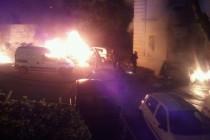Mantes-la-Ville: deux véhicules incendiés après la victoire du Front National aux municipales