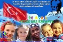 Association A.P.E.L TR : la fête des enfants le 26 avril