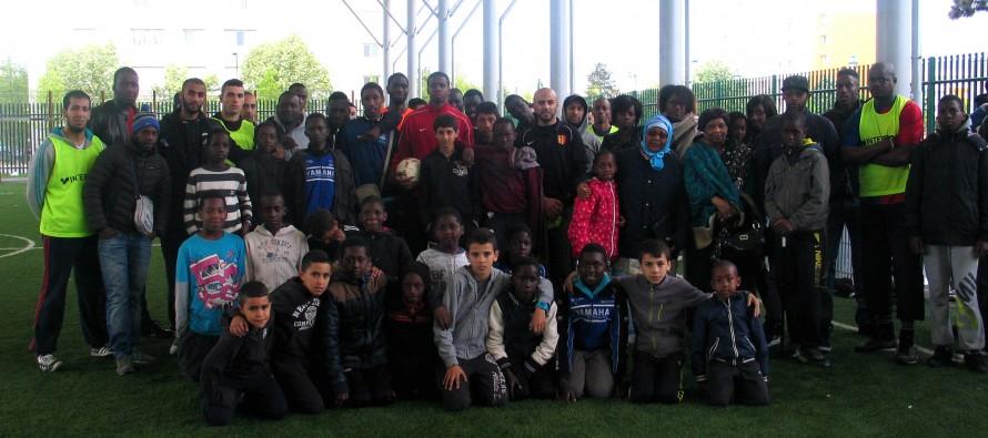 Du beau monde pour un tournoi de foot en hommage à Djibril Koulibaly