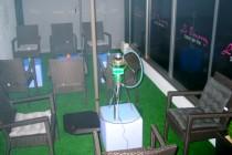 Vernon : la terrasse du salon de thé « Le Touareg » est ouverte