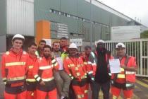 Guerville: les salariés de Valene en grève
