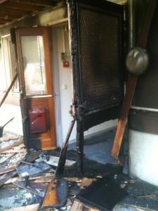 Incendie criminel à LFM Radio - 24 Juin 2014