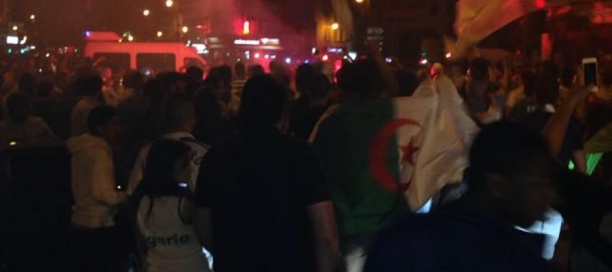 Mondial de football : scènes de liesse à Mantes-la-Jolie après la victoire de l'Algérie