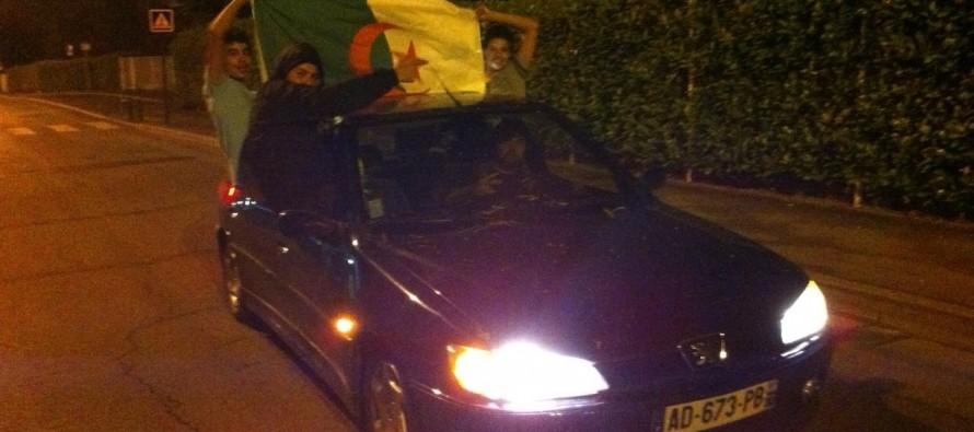 Mantes-la-Jolie – Brésil 2014 : la communauté algérienne fête la qualification pour les huitièmes