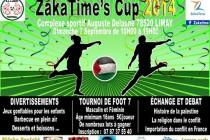 Limay – ZakaTime's Cup 2014 : un tournoi de foot pour la Palestine