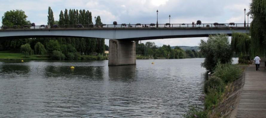 Intempéries à Mantes-la-Jolie : le niveau de la Seine monte