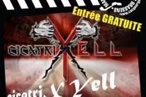 Mantes-la-Jolie : Cicatrix Yell au Zebra
