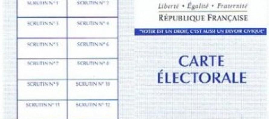 Mantes-la-Jolie – Départementales 2015 : inscription sur les listes électorales et carte électorale