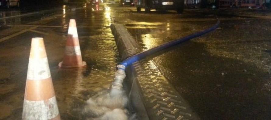 Les mantais privés d'eau après une rupture de canalisation