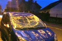 Mantes-la-Ville : la voiture termine sur le toit