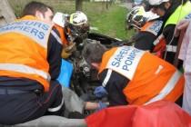 Magnanville : le conducteur d'un deux-roues sérieusement blessé sur la D 928