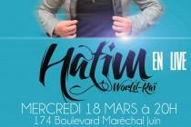 Mantes-la-Jolie : Cheb Hatim au collectif 12 mercredi soir