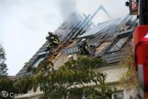 Camp de gens du voyage de Porcheville : un pavillon prend feu