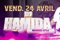 Mantes-la-Ville : DJ Hamida à La Suite vendredi 24 avril