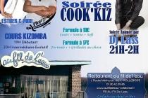 Mantes – Rolleboise: soirée Cook'Kiz Au fil de l'eau