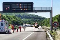 A 13 Porcheville : un quadragénaire héliporté après une collision avec un camion de la SAPN