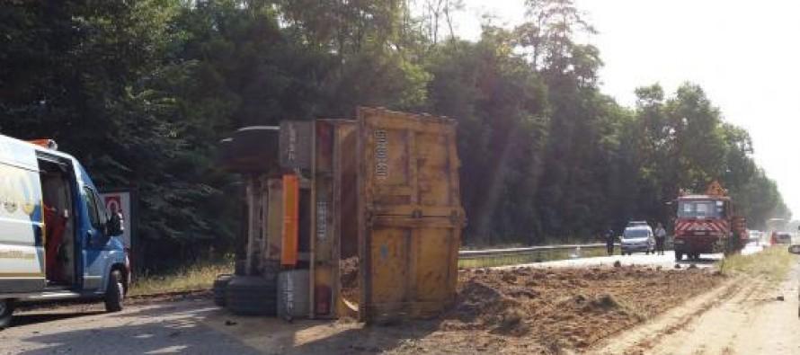 Mantes-la-Jolie – Rosny : spectaculaire collision entre un camion et une voiture sur la D113