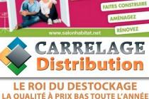 Mantes-la-Jolie : Carrelage Distribution présent au Salon de l'habitat 2016