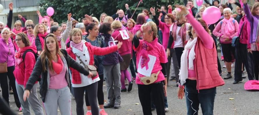 Mantes-la-Jolie : 550 personnes participent à la Marche Rose