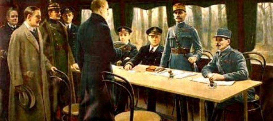 Mantes-la-Jolie : 98ème anniversaire de l'Armistice du 11 novembre 1918