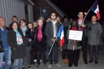 Régionales 2015 : un comité de gauche manifeste contre le FN à Mantes-la-Ville