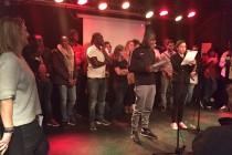 Mantes-la-Jolie : cérémonie de restitution de chantiers réalisés au Liban et au Sénégal