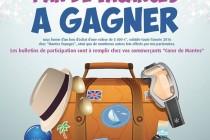 Jeu concours : les commerçants de Mantes vous offrent 1 an de vacances