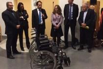 Mantes-la-Jolie: le Rotary Club offre 20 fauteuils roulants à l'hôpital François Quesnay