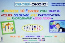 Auchan – Obaidi-Okaidi : atelier coloriage pour enfants mercredi 10 février