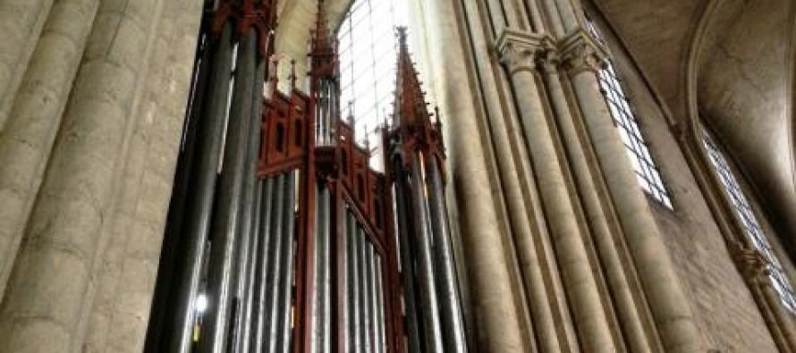 Mantes-la-Jolie – Collégiale : l'orgue Merklin classé au titre des Monuments Historiques