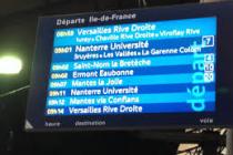 Grève du jeudi 31 mars : horaires des trains directs Mantes-la-Jolie/Paris St-Lazare et Paris St-Lazare/Mantes-la-Jolie