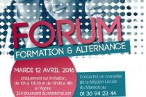 Mantes-la-Jolie : Forum Formation et Alternance à l'Agora