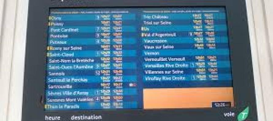 Grève SNCF du mardi 26 avril : horaires des trains directs Mantes-Paris et Paris-Mantes