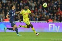 Foot : Kwateng a joué contre Zlatan pour le dernier match du Suédois au Parc
