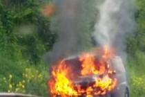A13 : gros bouchons après l'incendie d'un camion vers Poissy