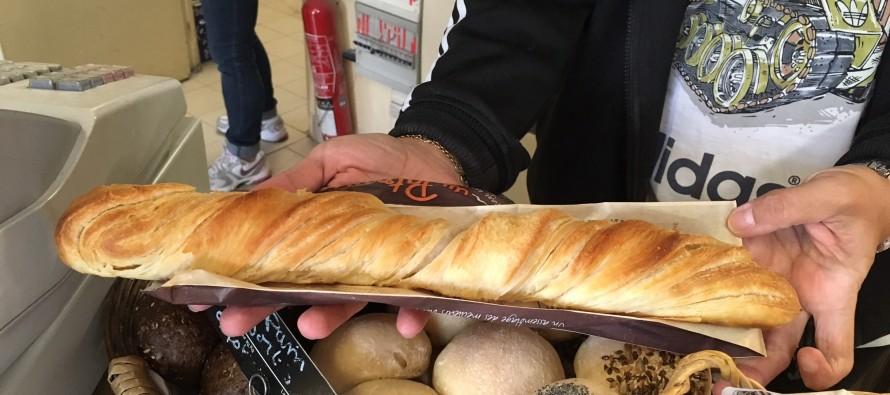Mantes-la-Jolie : une boulangerie invente la baguette feuilletée au beurre salé