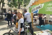 Mantes-la-Jolie : journée des Biotonomes place Saint-Maclou