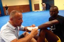 Mantes Muay Thai 78 : Aboubacar Diagouraga en demi-finale du championnat de France Classe A